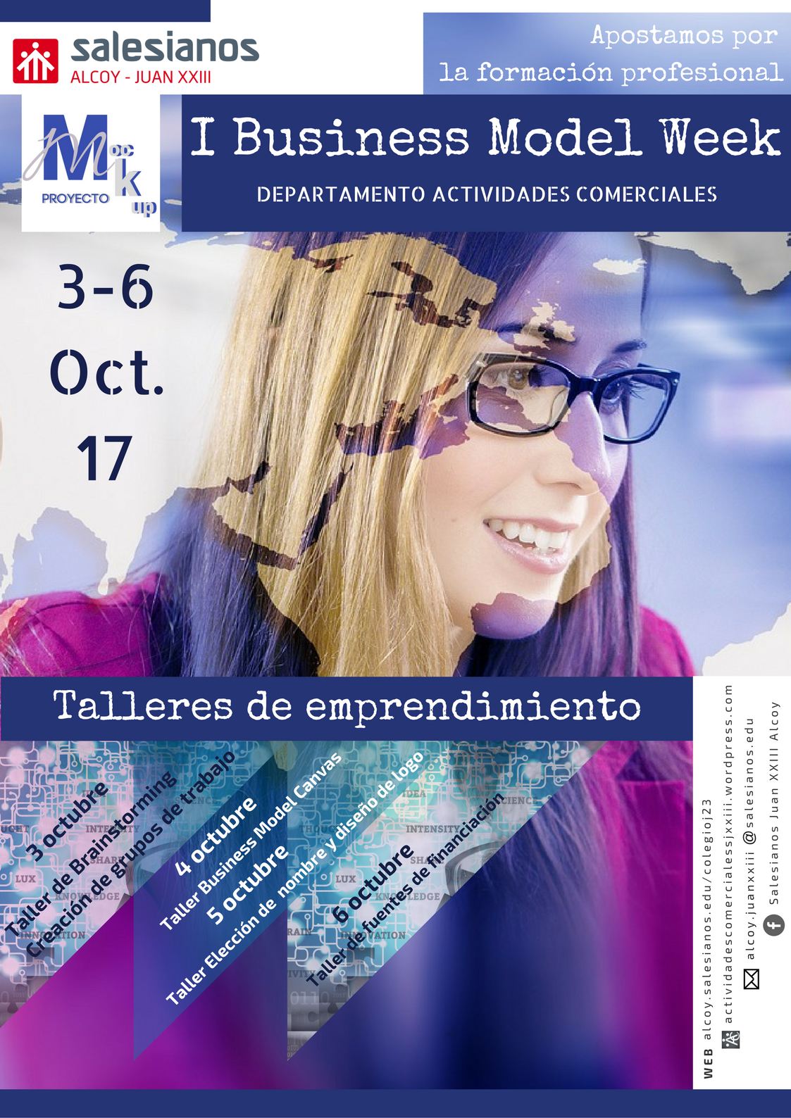 Cartel I Edición Business model week